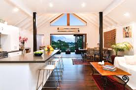 wonderful beach house plans design ideas this for all modern australian beach house open kitchen living room with
