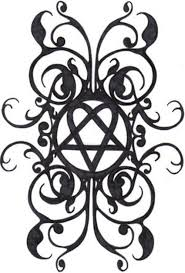 cool heartagram tattoo design sketch tattoomagz