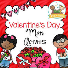 valentine u0027s day math activities pre k pages