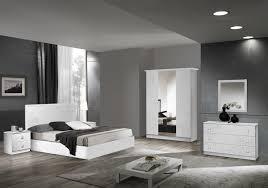 chambre laqué blanc chambre complète laqué blanc viola chambre complète pas cher
