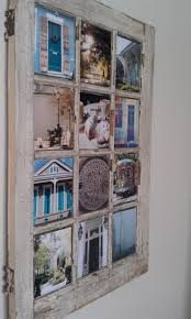 Using Old Window Frames To Decorate 122 Best Window Art Images On Pinterest Window Art Old Windows