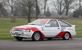toyota rally car toyota corolla ae86 gt group a 1984 racing cars