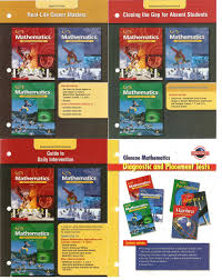 buy 4 volumes of glencoe mathematics applications and connections