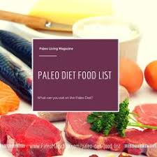 the ultimate paleo diet food list infographics banting y