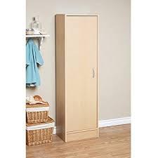 Single Door Pantry Cabinet Mylex Single Door Pantry 42071 Maple Home