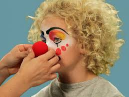 how to paint a clown face for halloween hgtv