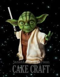 yoda cake topper pin di tracey makar su cakes