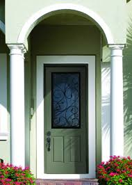 exterior design charming therma tru doors in white or brown for