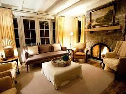 Rustic Living Rooms by Living Room Rustic Country Decorating Ideas Window Treatments