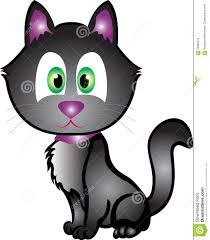 halloween black cat stock vector image 60389774