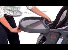 How To Fold A Graco High Chair Graco How To Assemble U0026 Fold Duodiner Lx Highchair Youtube