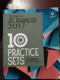 test drive for jee advanced 2017 10 practice sets amazon in