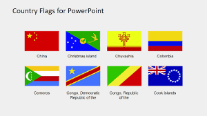 Comoros Flag Country Flags Clipart For Powerpoint B To C Slidemodel