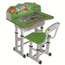 ergonomic adjustable kids study table and desk for children xd 525