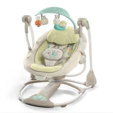 Swinging Baby Chairs Ingenuity Soothe U0027n Delight Portable Swing Buzzy Bloom Babies
