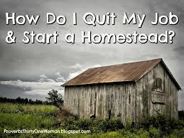 how do i quit my job u0026 start a homestead proverbs 31 woman