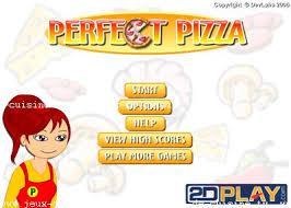 jeux de cuisine de pizza de pizza