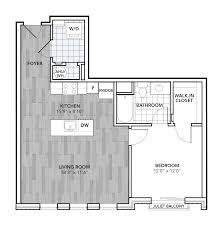 Square Bathroom Floor Plans Floor Plans Chestnut Square Apartments The Bozzuto Group Bozzuto