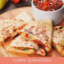 rachael emeril lagasse thanksgiving leftovers quesadilla recipe