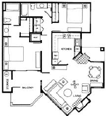 2 Bedroom Condo Floor Plan Luxury Condo Floor Plans At Meridian Condoresorts U2013 Scottsdale