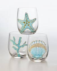 decorazioni bicchieri bicchieri decorati fai da te foto 21 39 10elol