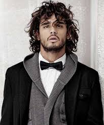 boys hair styles for thick curls long hair men styles curly long hairstyles for curly hair 246 300