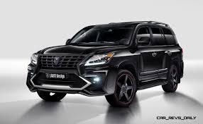 lexus pickup truck 2016 larte design creates killer u0027alligator u0027 upgrade package for lexus