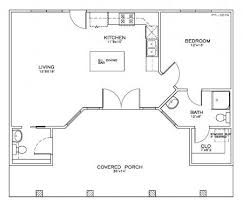 one bedroom one bath house plans one bedroom cottage plan 2 house plans craftsman