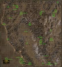 Fallout New Vegas Interactive Map by Fallout 2 Interplay 1998 Pc Games Revisited