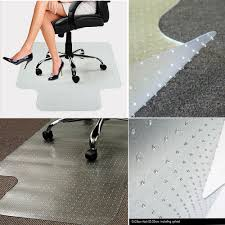 Dining Room Carpet Protector by Office Chair Mat Carpet Floor Protector Pvc Plastic Free