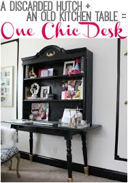 Build A Hutch How To Build A Desk Using Furniture You Already Have
