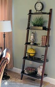 Book Or Magazine Ladder Shelf by Best 25 Ladder Shelf Decor Ideas On Pinterest Ladder Bookcase