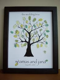 tree signing for wedding wedding tree guestbook a stitch in lime