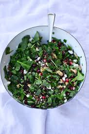 green salad for thanksgiving pomegranate wild rice salad culinary mamas