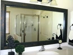 Black Mirror Bathroom Cabinet Black Bathroom Mirror Akapello