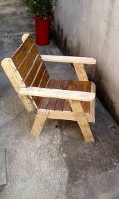 Outdoor Patio Pallet Furniture - diy pallet chair 101 pallet ideas