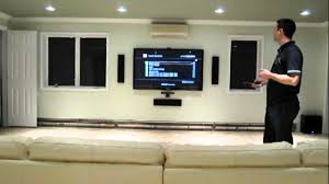 home theater installation by installyourplasma com youtube