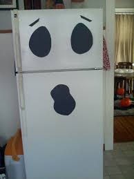 halloween ghost crafts friendly fridge ghost