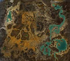 Fallout 2 World Map by Fireheart Rise Map Guild Wars 2