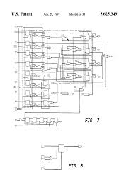 patent us5625349 electronic lock and key system google patents