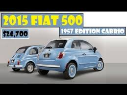 fiat 500 edition spec 2015 fiat 500 1957 edition cabrio is available now priced from
