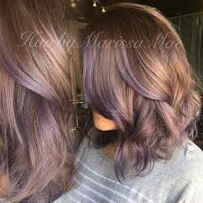 shag haircut brown hair with lavender grey streaks 17 gorgeous outfits for early spring 2018 lavender highlights