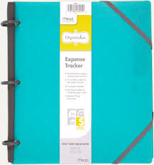Mead Expense Tracker by Organizher Expense Tracker 47008 Mead