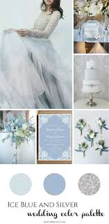 blue and silver wedding blue silver wedding inspiration for a winter day