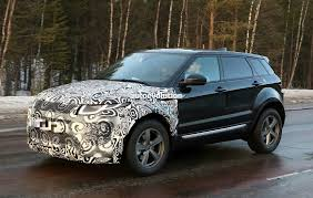 land rover evoque all new range rover evoque ii spied for the first time as test