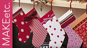diy kids u0027 craft tutorial christmas stocking card youtube