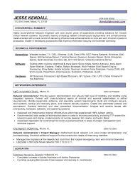 download network technician sample resume haadyaooverbayresort com