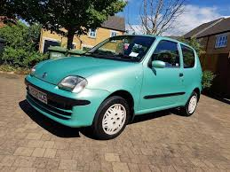 fiat seicento 2001 1 0 petrol manual new mot 2 key 60k only in