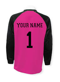 goalkeeper jersey design your own soccer goalkeeper jersey personalized with your name and