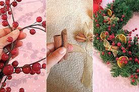 Plant Used As A Christmas Decoration How Do I Make A Christmas Wreath Homemade Christmas Stockings And